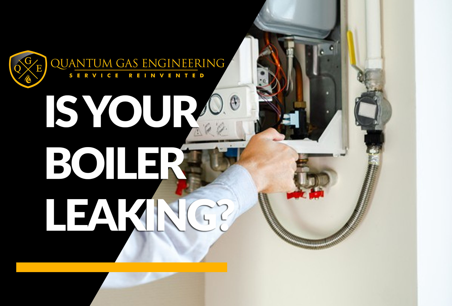 what to do if your boiler is leaking