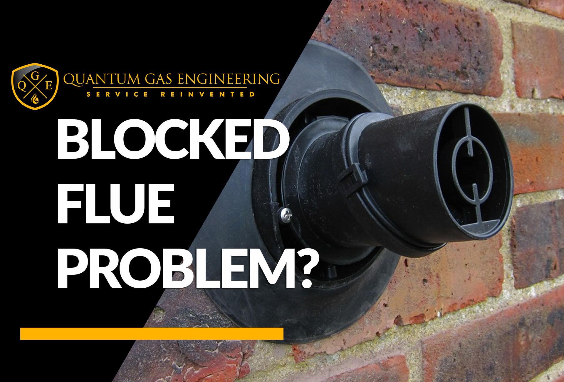 Blocked Flue Boiler