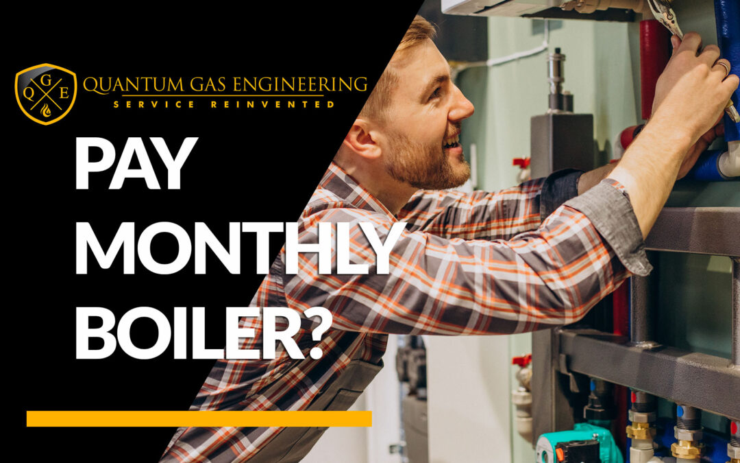 Can I pay monthly for a new boiler?