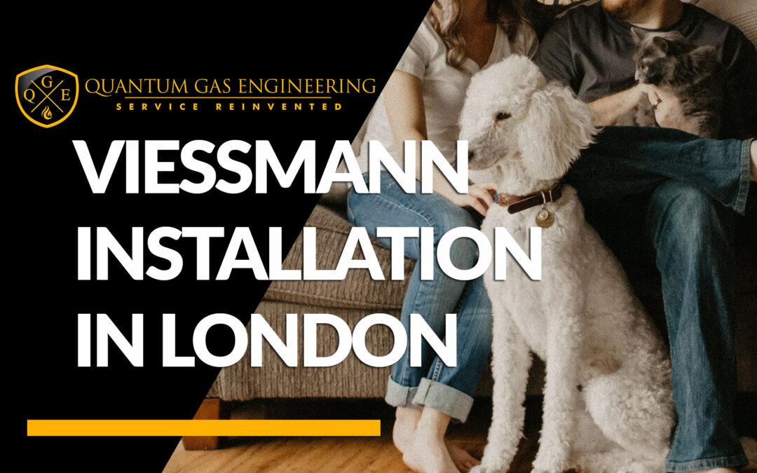 Viessmann boiler installation in North London